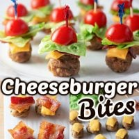 Cheeseburger Bites