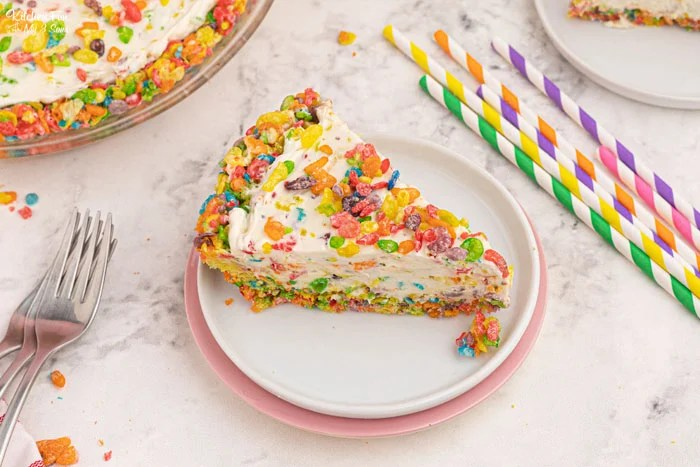 Fruity Pebbles Cheesecake