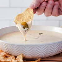 The Best White Queso Dip