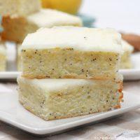 Lemon Poppy Seed Bars