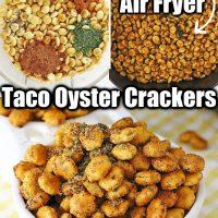 Taco Seasoned Oyster Crackers