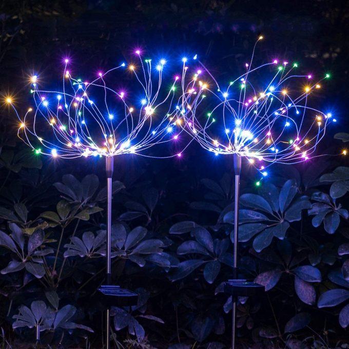 Fireworks Solar Lights