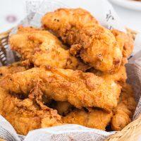 Crispy Chicken Tenders (Fried or Baked)