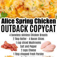 Alice Spring Chicken