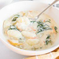 Olive Garden Chicken Gnocchi Soup