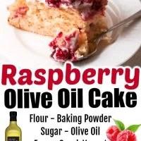 Raspberry Olive Oil Cake