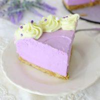 Lavender Cheesecake