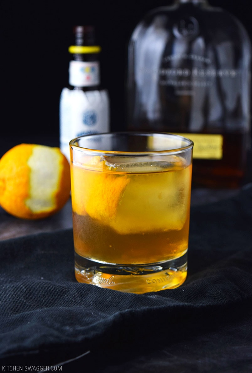Old Fashioned Cocktail Recipe   Kitchen Swagger Old Fashioned Cocktail Recipe