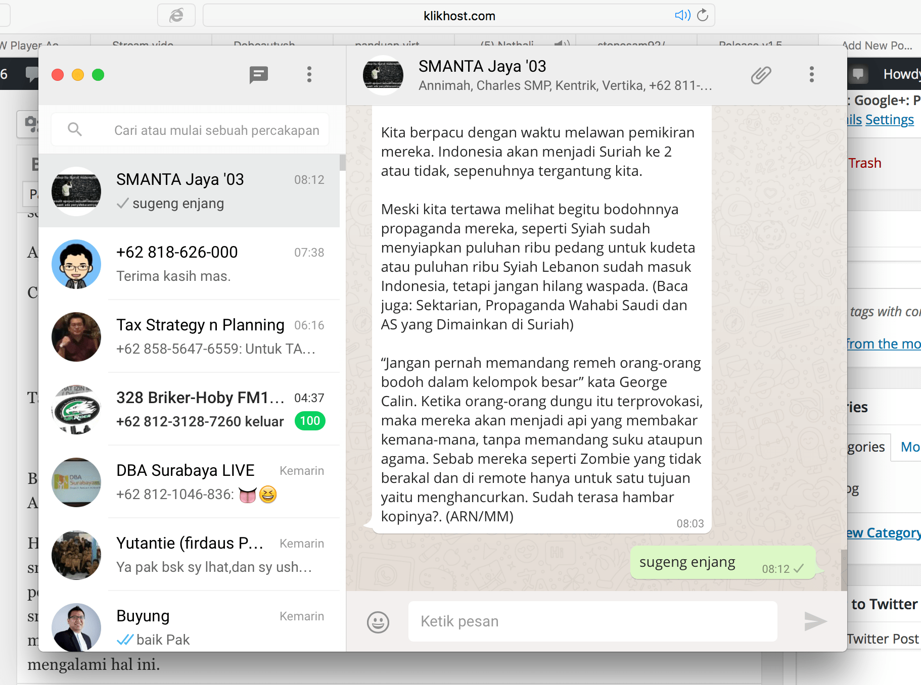Cara Instal Whatsapp di MacBook