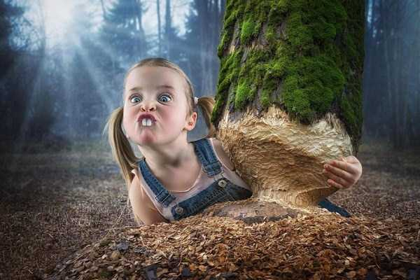 Creative Father Makes Cool Photo Manipulations With His