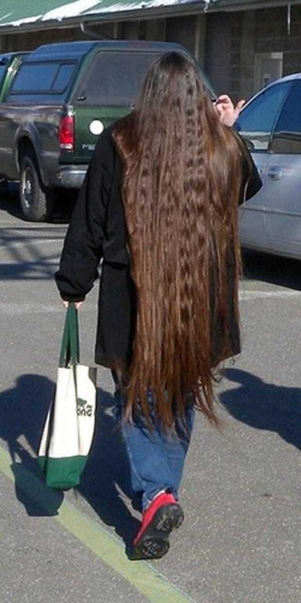 People With Ridiculously Long Hair Klyker Com