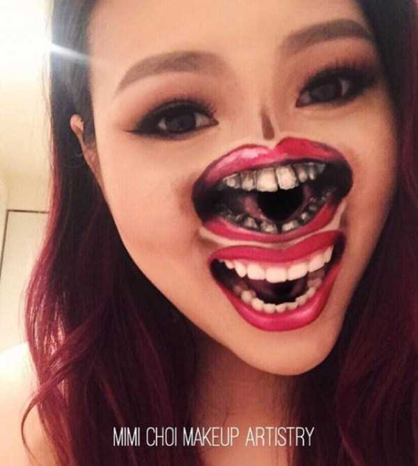 Scary Makeup Works By Mimi Choi Klyker Com