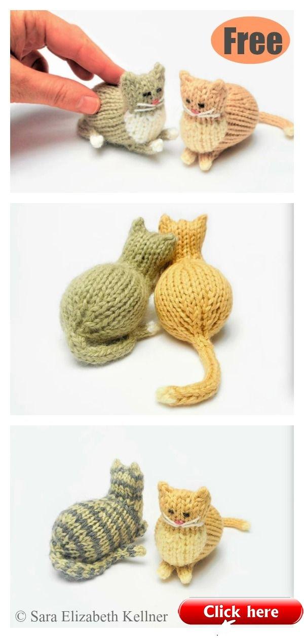 free cat knitting patterns # 55