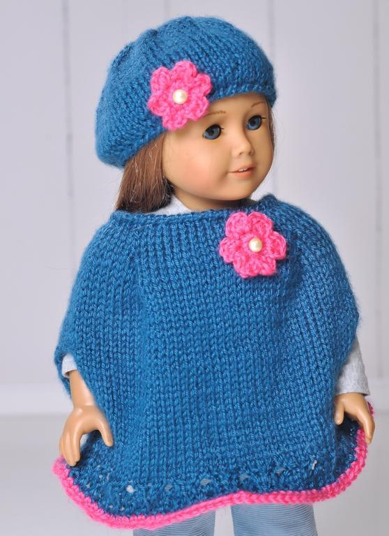Knit Patterns For American Girl Doll Hat And Scarf