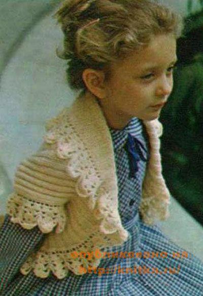 Krim Bolero untuk Girl Spokes Photo and Scheme
