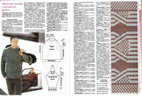 बुनाई सुइयों के साथ स्वेटर के योजनाएं और विवरण