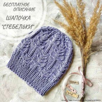 Descrierea capacelor acelor de tricotat din oțel tricotate