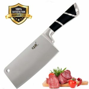 Professional Cleaver Knife Stainless Steel with Ergonomic Handle