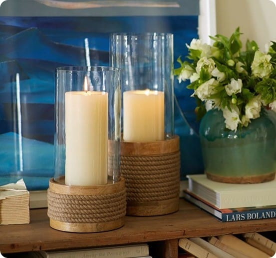 Candle One Holders Pier Metal