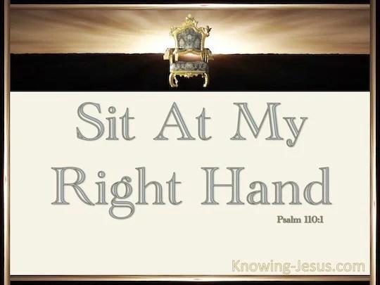 Jesus His Hands