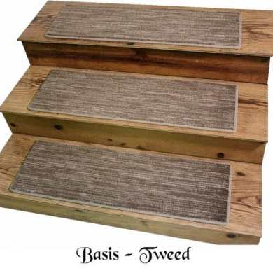 BASIS Tweed DOG ASSIST Carpet Stair Treads