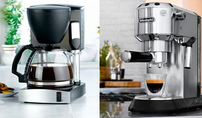 Кофе қайнатқыш жақсырақ - тамшылатып немесе мүйіз