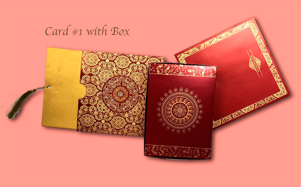 Marriage Invitation Card Price