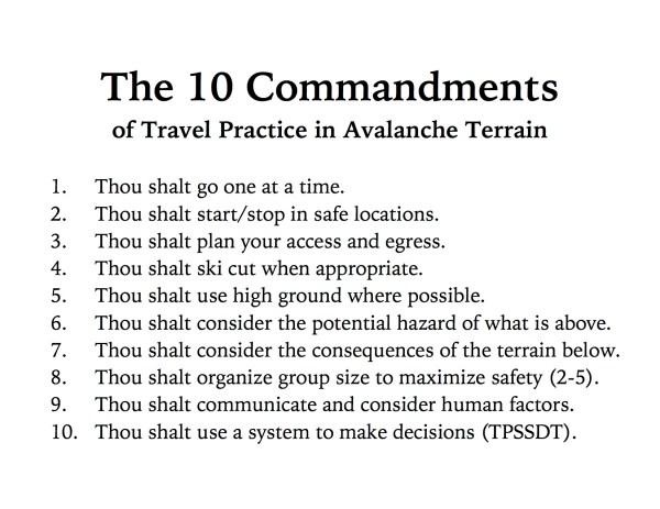 10 commandments # 73