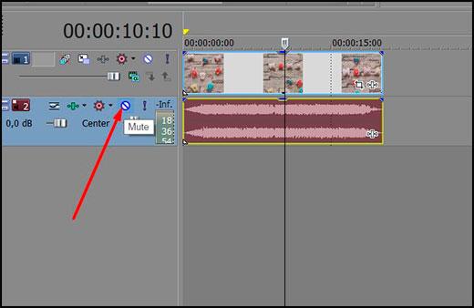 วิธีใน Sony Vegas แยกเสียงออกจากวิดีโอบนแทร็กเพื่อตอบกลับจากกันและกัน