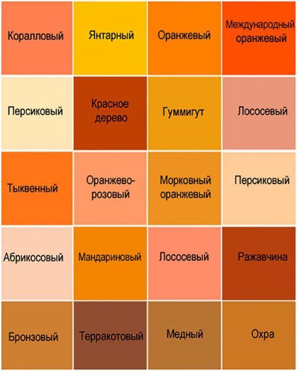 سایه های نارنجی