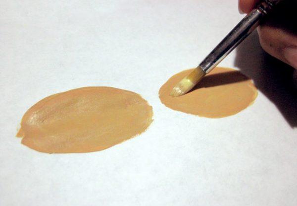 Creare colore del corpo leggero da Guashi