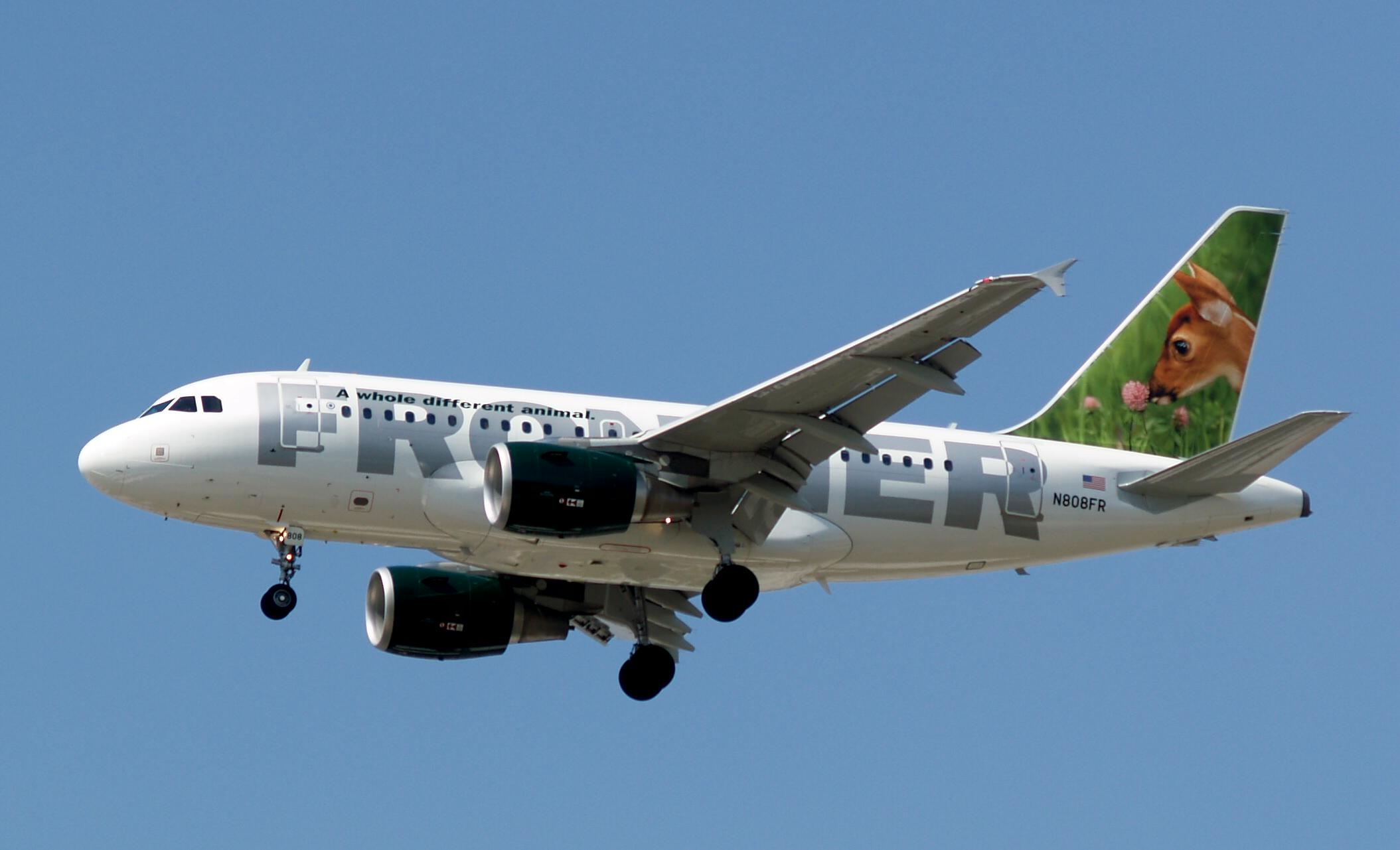 A319 Airlines Planes Frontier