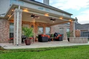 Kuinka tehdä patio maassa omalla kädet: erilaisia vaihtoehtoja suunnittelulle, sisustukseen ja järjestelyyn (85+ Ideat & Video)