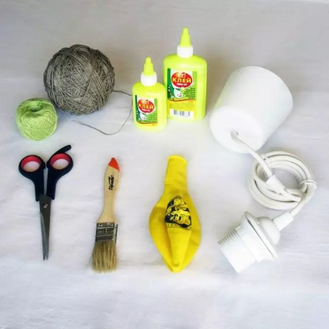 مواد مورد نیاز برای کار
