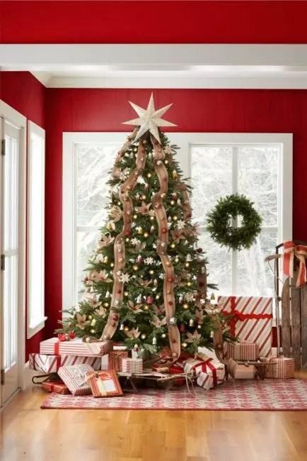 Shiny Star, Falling Linen Bibbons og Sleigh - Alt for vakker dekorasjon i rustikk stil