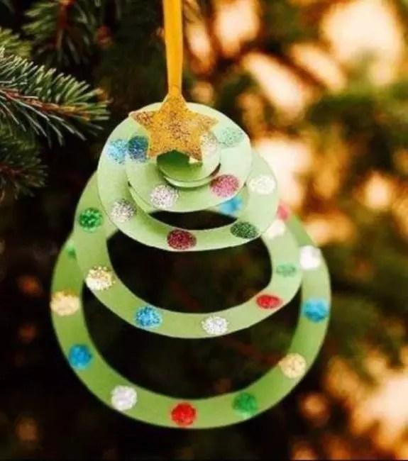 Arbre de Noël sur l'arbre de Noël