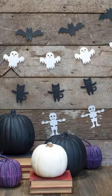 Guirlandes sur halloween