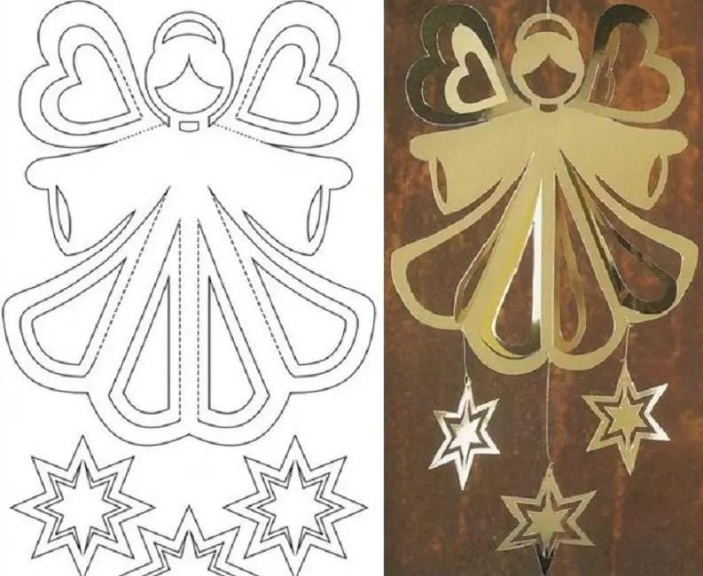 Stencil con Angel.