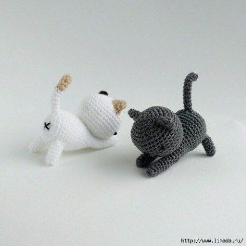কিভাবে একটি বিড়াল crochet 1 টাই