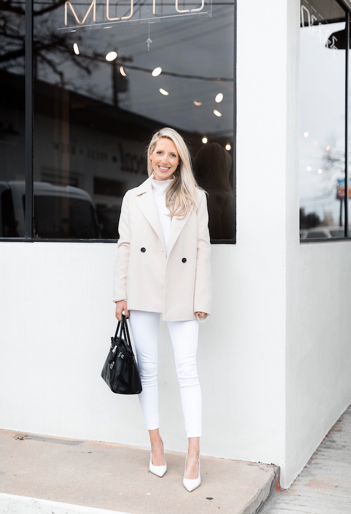 Winter White Outfits 2019 Tips For How To Wear White In