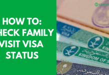 HOW TO CHECK FAMILY VISIT VISA APPLICATION STATUS IN SAUDI ARABIA - MOFA