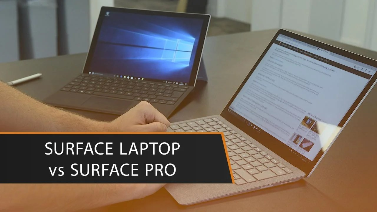 Difference 2 Surface Between Pro Pro And