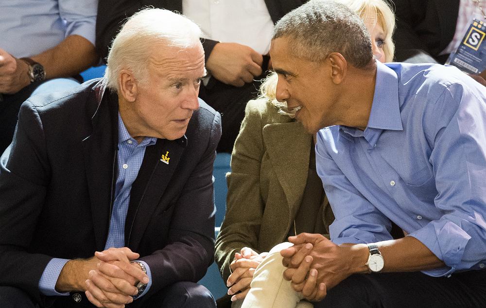 Barack Obama becomes a meme to wish Joe Biden a happy ...