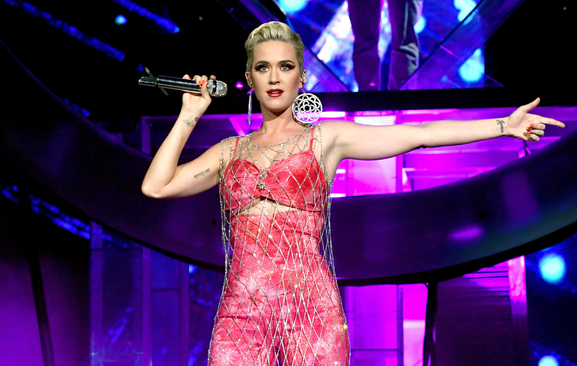 Watch Katy Perry make surprise appearance on final day of Coachella 2019