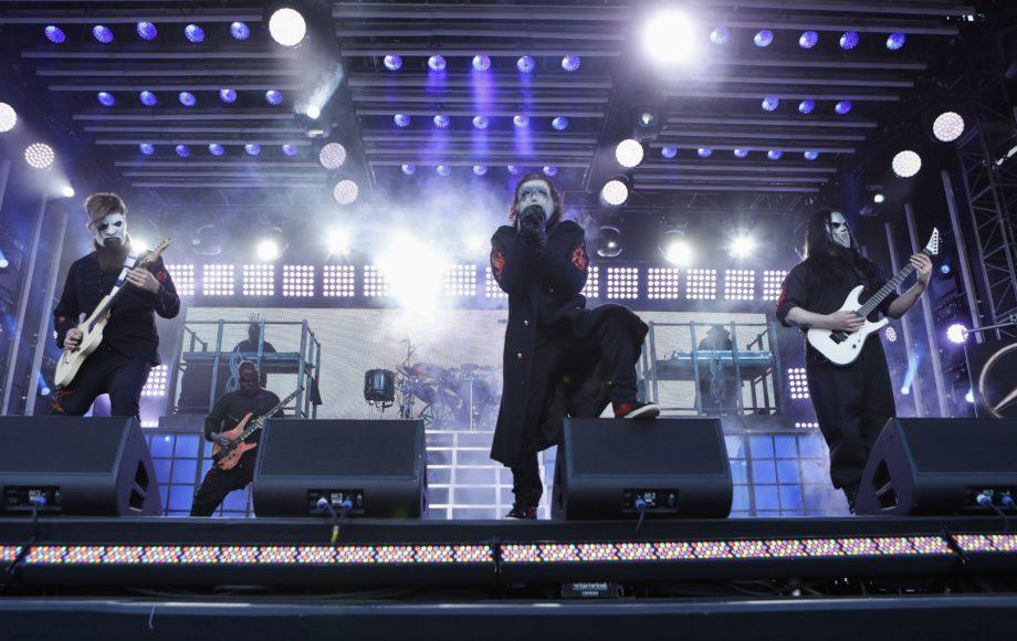 Over Slipknot Masks Years