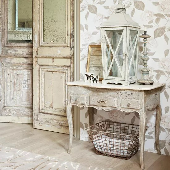 How to create a French style home   Ideal Home Bring a touch of feminine chic to walls   How to create a French style