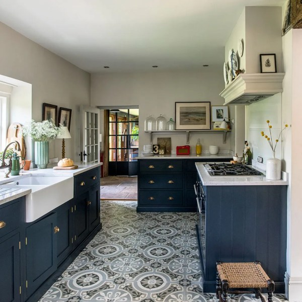 Kitchen flooring ideas to give your scheme a new look Patterned flooring kitchen flooring ideas Polly Eltes