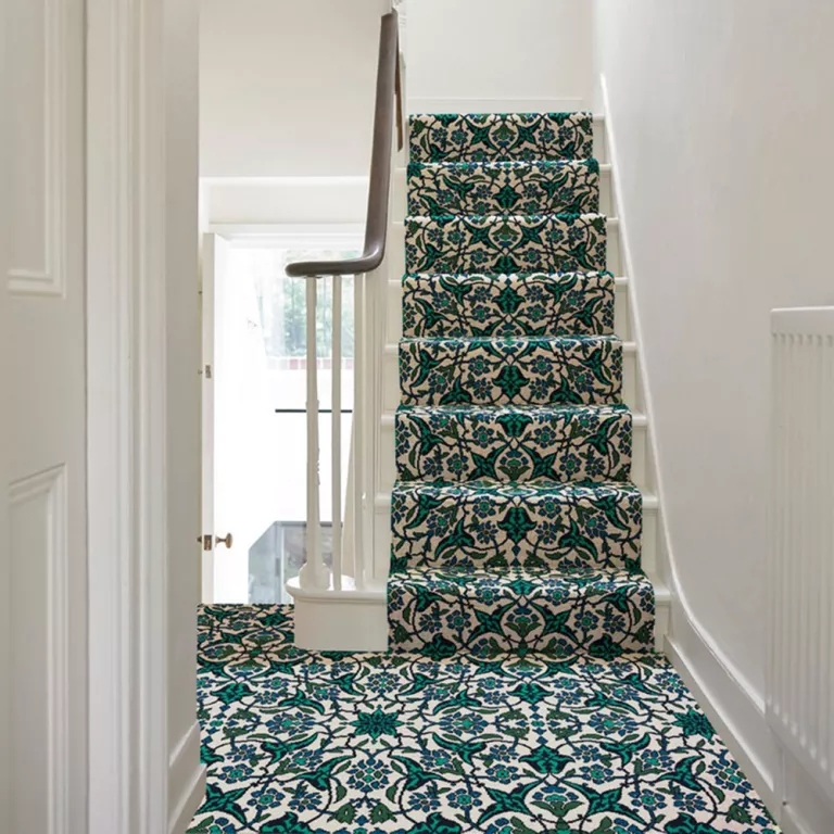 Best Stair Carpets – Our Pick Of The Most Fabulous Flooring For | Multi Coloured Stair Carpet | American Style | Candy Stripe | Interior Design | Textured | Residence