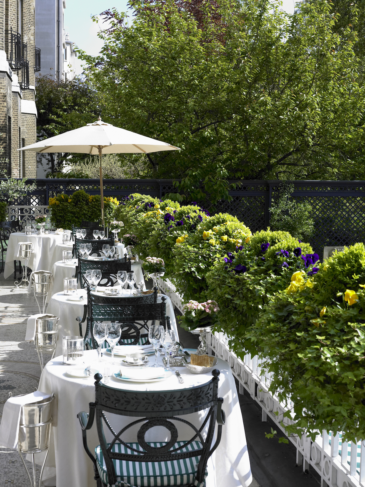 The Most Stylish Outdoor Terraces In London Livingetc