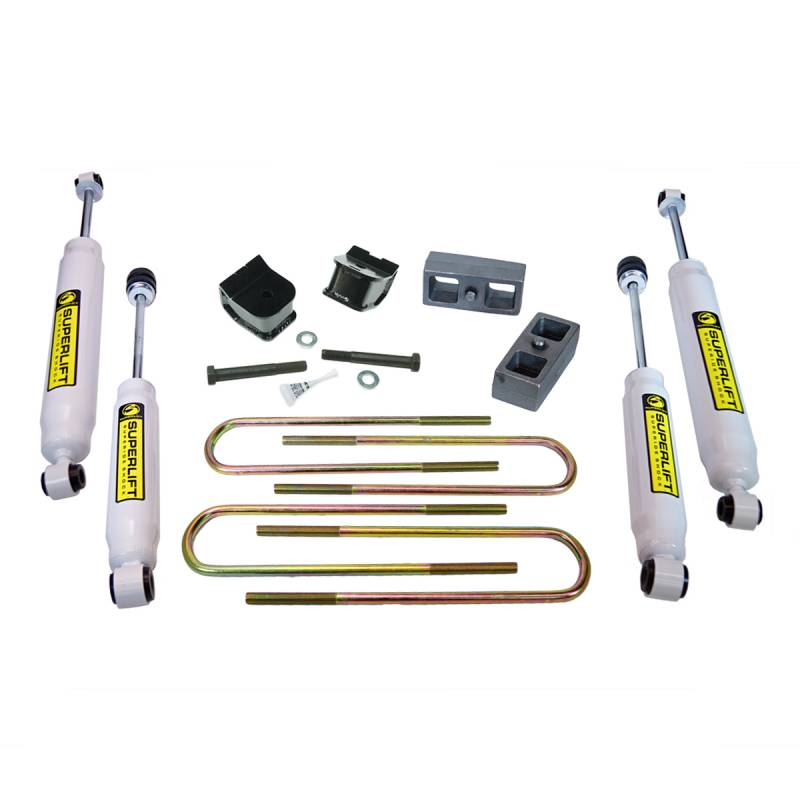 Suspension 1990 Ford Lift 2 4 Lift 4x4 Inch F Body 250 Inch